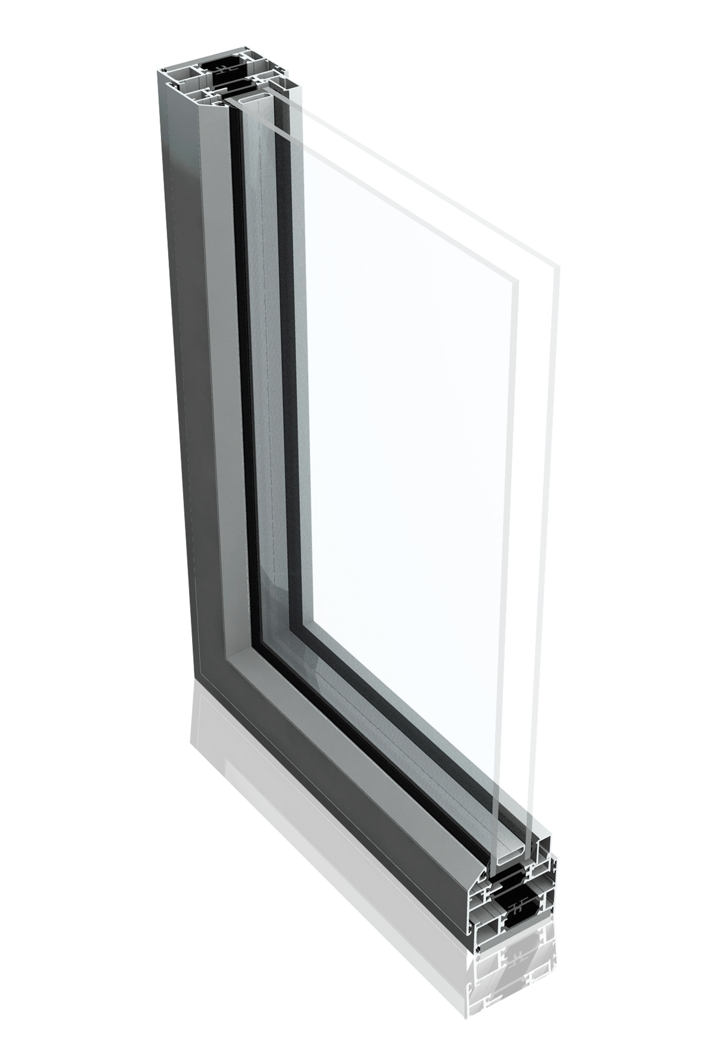OPTIO 58BW ST STEEL REPLACEMENT WINDOW